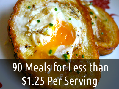Eat Like a King for $1 Per Serving